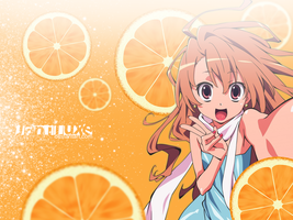 Orange Taiga by Janiluxe