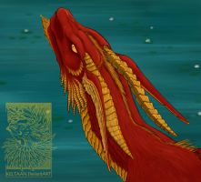 Red Dragon by Keltaan