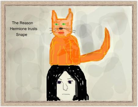 Why Hermione Trusts Snape by lunafish1wish
