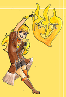 Contest Prize: Yang Xiao Long by TheRainbowRose
