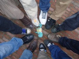 All we need is feet by sylver1984