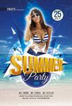 Summer Party Flyer by iorkdesign