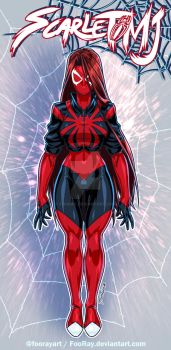 Scarlet Spider MJ: Design by FooRay