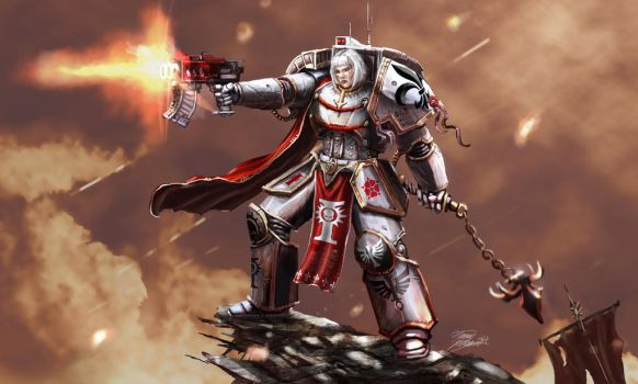 Saint of Battle by LordHannu