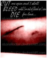 cut bleed die by alonerocker