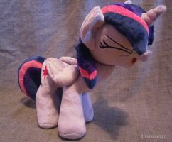Handmade Twilight Sparkle Yay Plushie! by HipsterOwlet