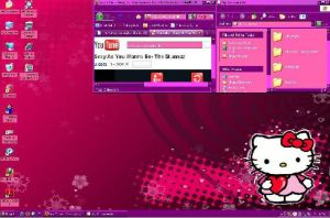 Hello Kitty Puple and Pink by Photographygirl16