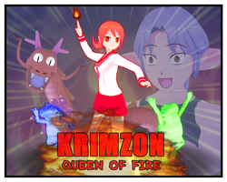 Krimzon Queen of Fire by Dragoshi1