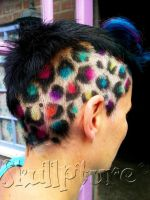 Leopard print hair colorss by AngeLee-Loo