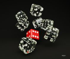 Dices by meszimate