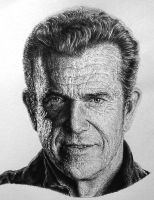 Mel Gibson Expendables poster by Damyanov