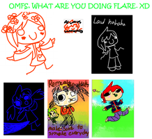 OMFS. FLARE. WATER YOU DOIN'. STAHP. by Gravitii-CS