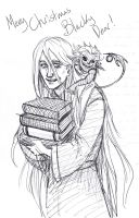 Master Librarian and Remus by Lillooler