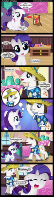 A stache is all it takes. by Coltsteelstallion