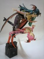 Morrigan and Lilith Papercraft by erinasution