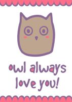 Owl always love you! by themarvelgirl