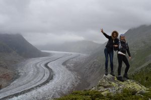 Hiking in Alps by Keitrina