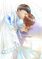 CL - Kiss of an Angel by Rumbl3Fish