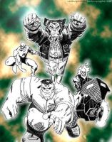 fantastic 4 by phobia