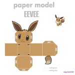 Eevee Cubicritter by shyviolet34
