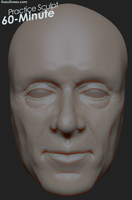 Male Face 02 - 60-Minute Practice Sculpt by GaryStorkamp