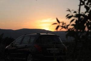 Sunset in Italy by Dodephine
