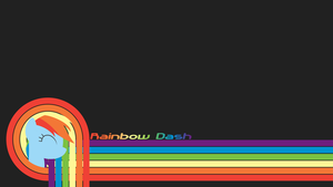 Rainbow Dash Wallpaper by The-Intelligentleman