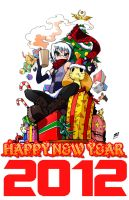 HAPPY NEW YEAR 2012 by Jeetdoh