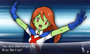 You are challenged by Miss Martian by elyoncat
