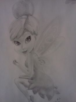 Tinkerbell Requested by LadyWolf-ForeverARt