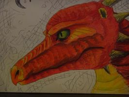 Smaug by jitterfly
