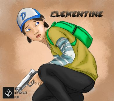 Clementine by rexze1