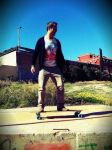 New longboard! by Trancos8