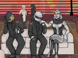 Exclusive Robot Party by KMoonleaf