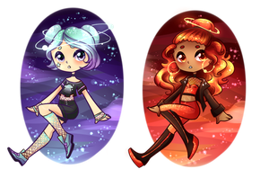 Star Girls Adoptables Auction CLOSED by GrimmAdopts