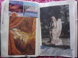 1st Altered Book 32, Favorites by angelstar22