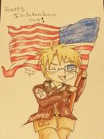 Happy Birthday America!!! by Spottedleaf24