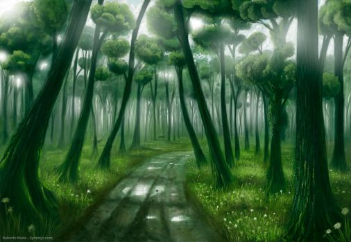 Deep Forest by Syntetyc