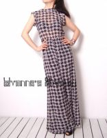 Black White Checked Jumpsuit 4 by yystudio
