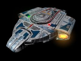 USS Defiant by Micky-P
