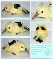 Plush - Zapdos Fledgling by RadiantGlyph
