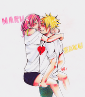 Narusaku - One heart by katita-chan