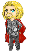 little thor by Valkinerie