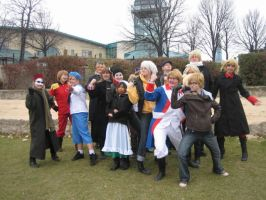 APH Day 2013: Being Manly men by Yuki-the-Trickster