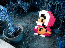 LEGO: Pink Ice Climber by Meufer