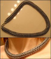 roundmaille necklace by spasticpez