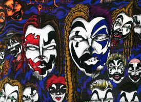 Insane Clown Posse. by DeflatingReality