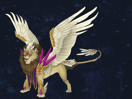 Crystal Defenders Egg: Third Phase Adopt by ElysianImagery