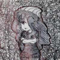 Pen drawing by Warm-Vibe