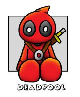Lil' Plusher Deadpool by 5chmee